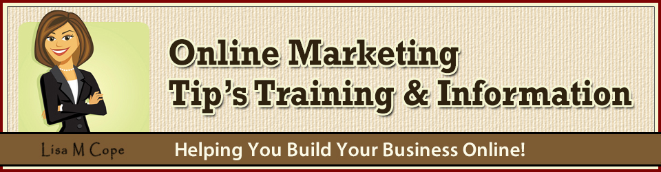Lisa M Cope - Online Marketing Home Business Info